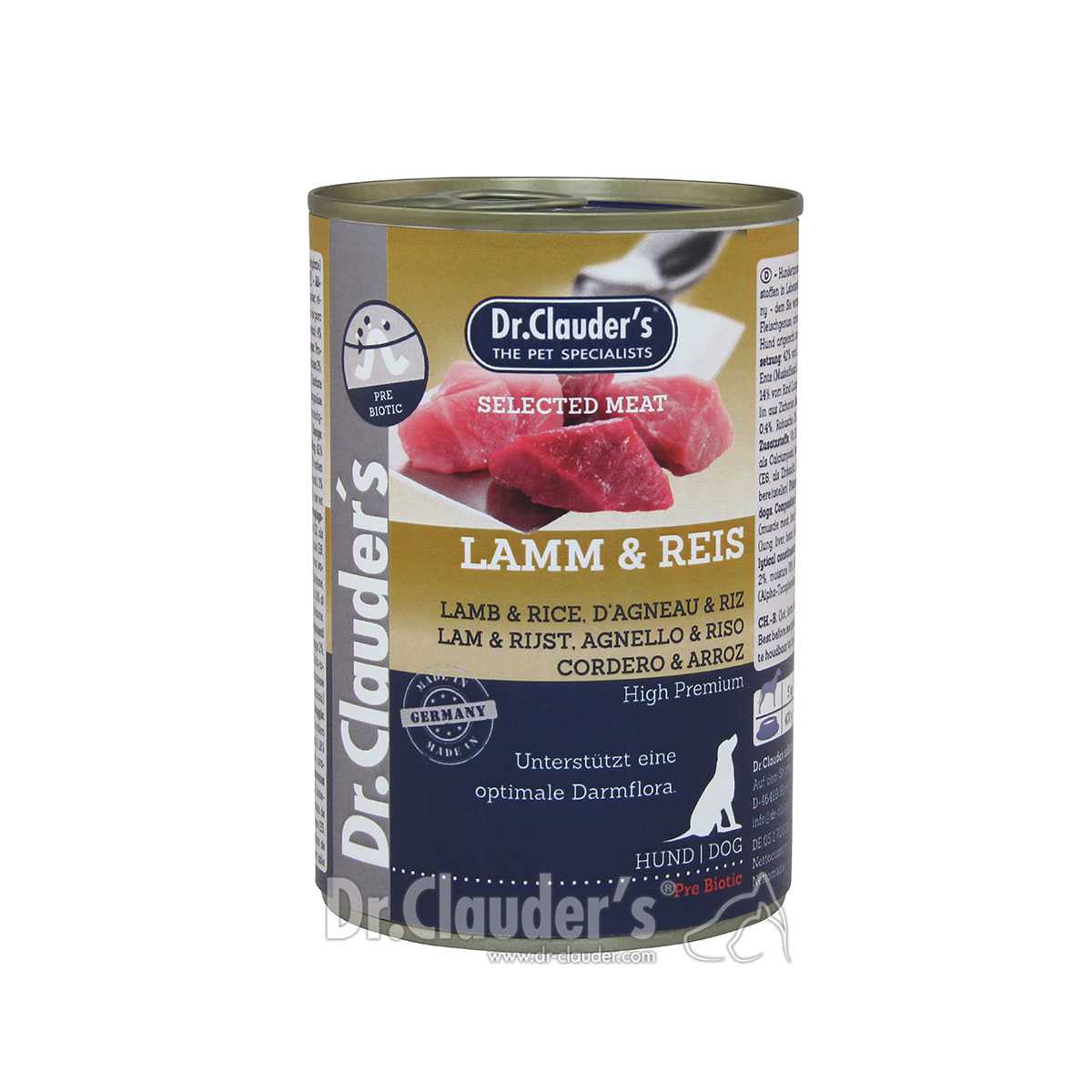 dr clauders selected meat prebiotics 6x400g kaufen bei. Black Bedroom Furniture Sets. Home Design Ideas