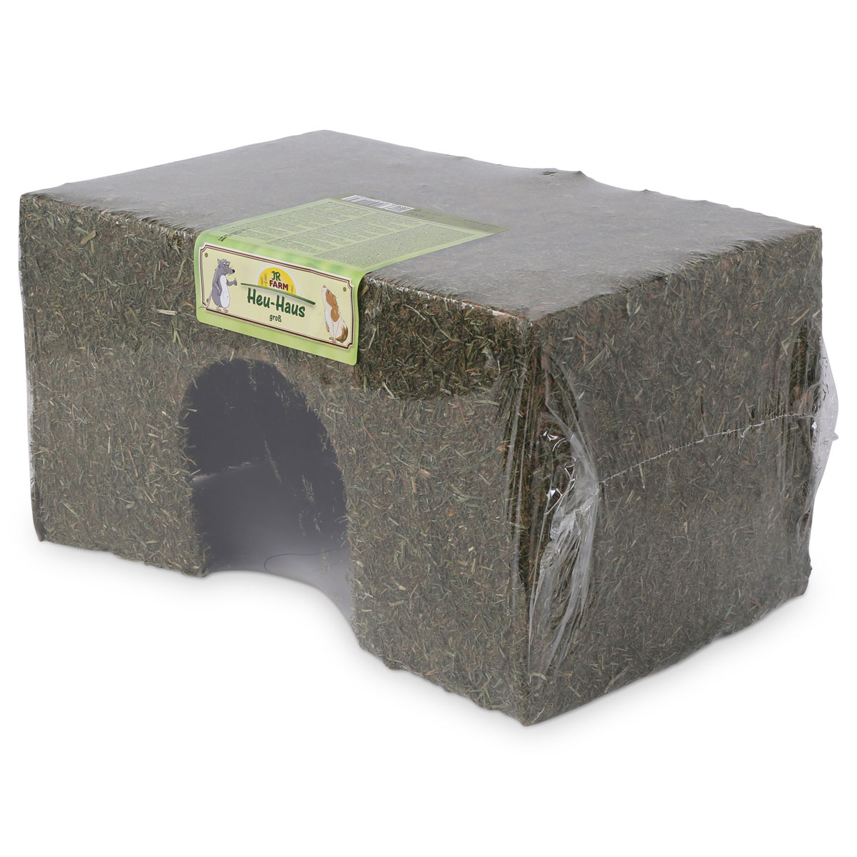 jr farm heu haus f r nager g nstig kaufen bei zooroyal. Black Bedroom Furniture Sets. Home Design Ideas