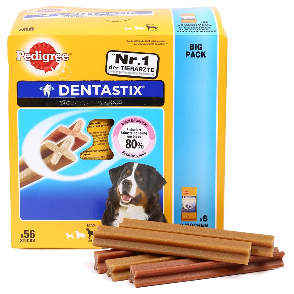 pedigree dentastix f r gro e hunde g nstig kaufen bei zooroyal. Black Bedroom Furniture Sets. Home Design Ideas