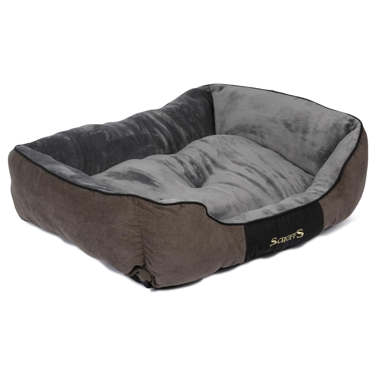 Scruffs Hundebett Chester Box Bed Grau XL