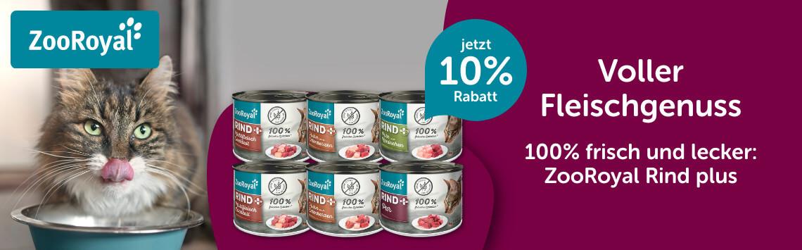 ZooRoyal Original Rind mit 10%