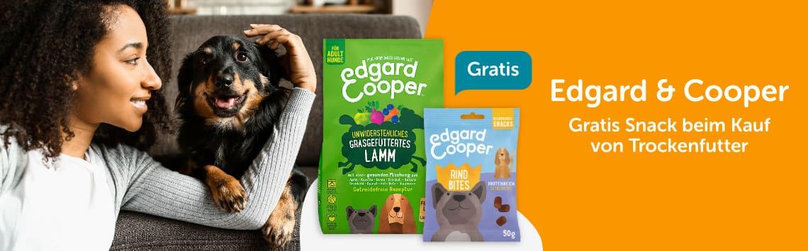 Edgard & Cooper + Snack gratis