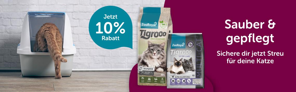 Katzenstreu 10%