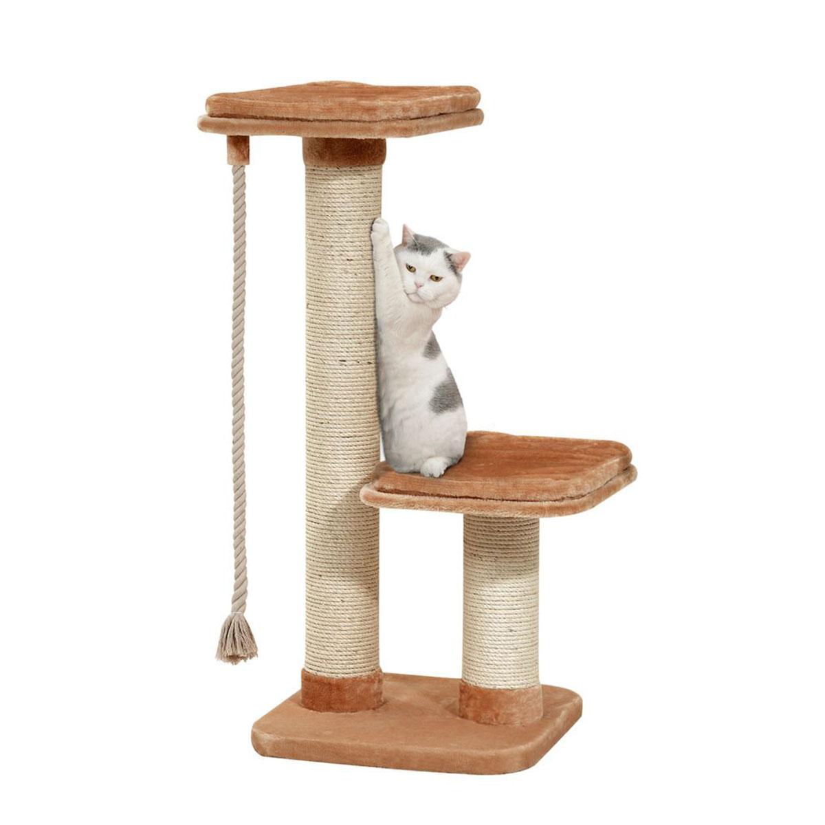 karlie kratzbaum big cat beige g nstig kaufen bei zooroyal. Black Bedroom Furniture Sets. Home Design Ideas