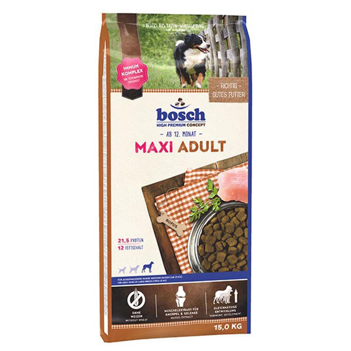 Bosch Hundefutter Maxi Adult 15kg
