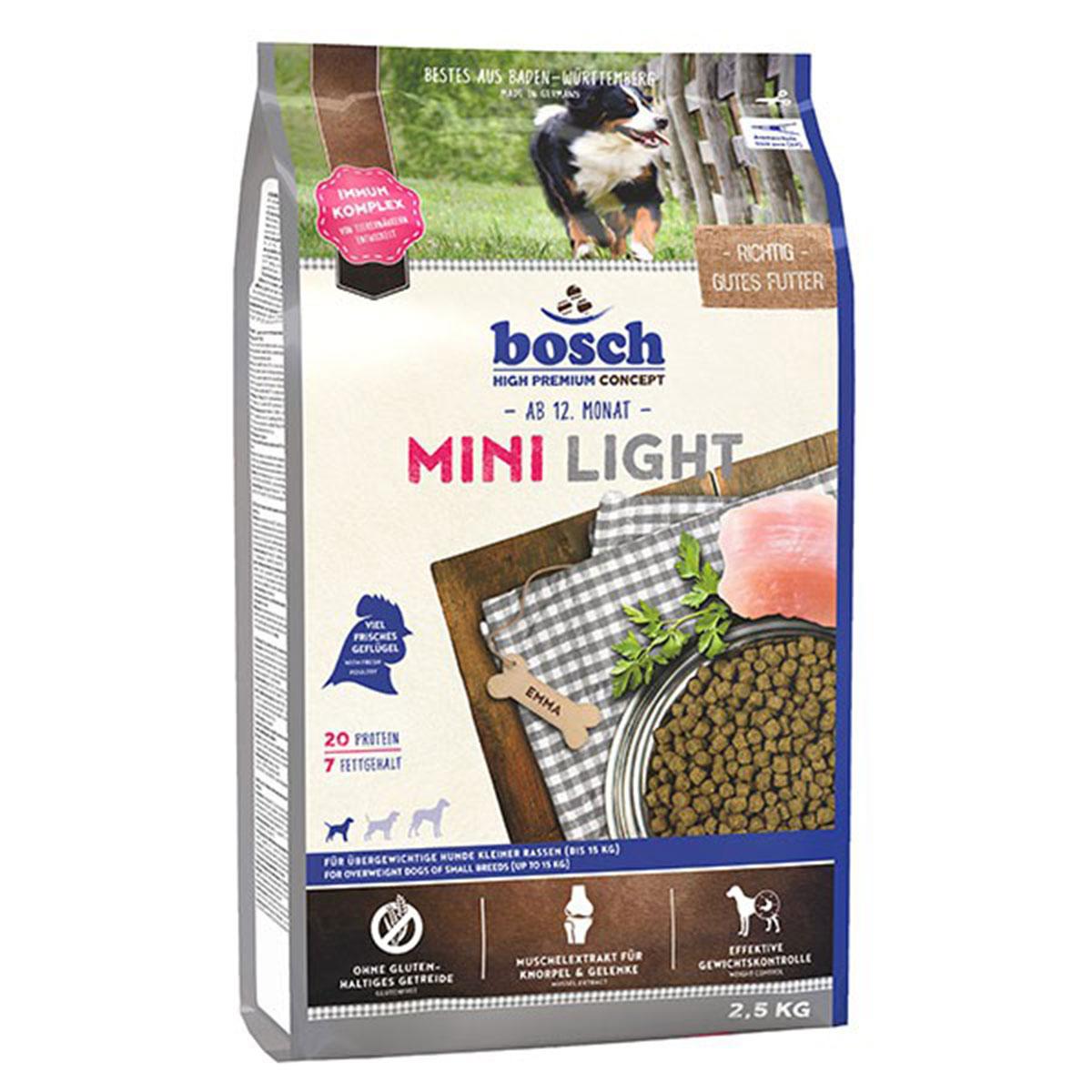 Bosch Hundefutter Mini Light 2,5kg