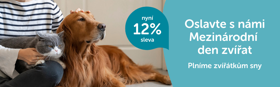 Den zvířat s 12% slevou