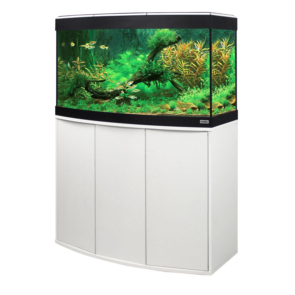 fluval panoramaaquarium mit led beleuchtung vicenza 180. Black Bedroom Furniture Sets. Home Design Ideas