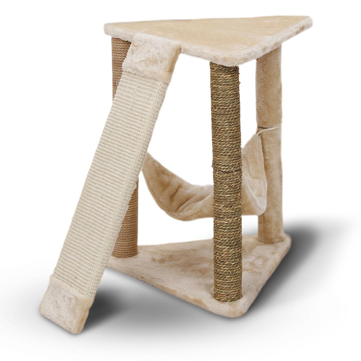 zooroyal kratzbaum lene 58cm beige g nstig kaufen bei zooroyal. Black Bedroom Furniture Sets. Home Design Ideas