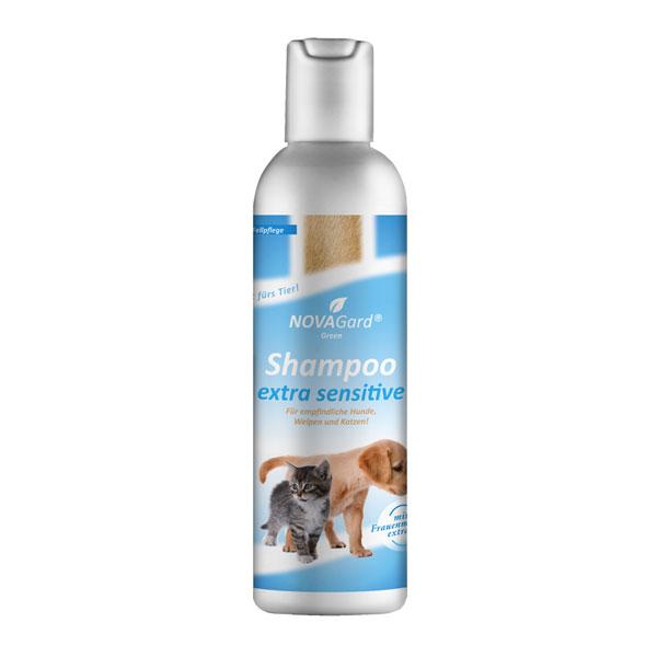 NovaGard Green Shampoo extra Sensitive für Hunde und Katzen 200 ml