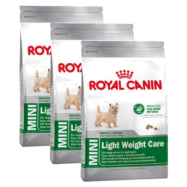 royal canin hundefutter mini light weight care 3x2kg bei. Black Bedroom Furniture Sets. Home Design Ideas
