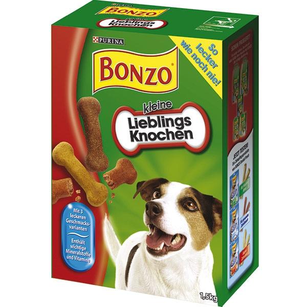 bonzo kleine lieblingsknochen g nstig kaufen bei zooroyal. Black Bedroom Furniture Sets. Home Design Ideas