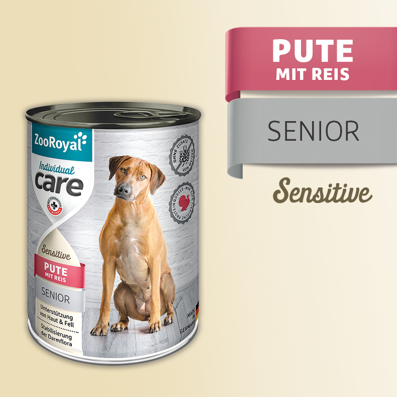 ZooRoyal Care Adult Sensitive Pute und Reis