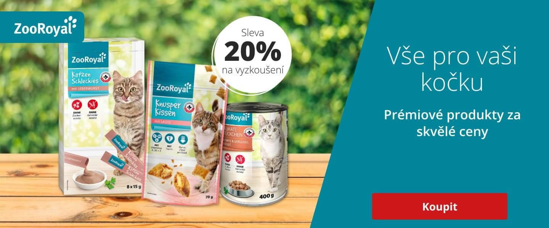 ZooRoyal Original produkty pro kočky