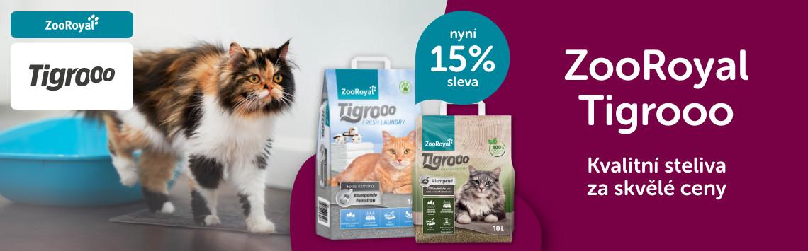 Stelivo Tigrooo s 15% slevou