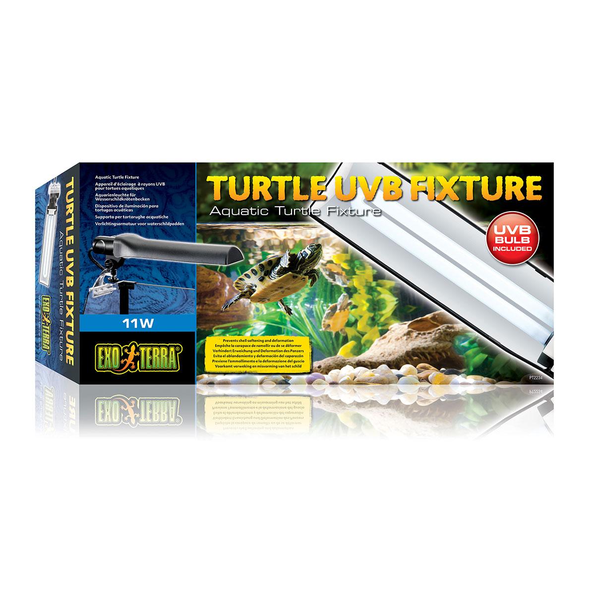 exo terra turtle uvb lampe 11w g nstig kaufen bei zooroyal. Black Bedroom Furniture Sets. Home Design Ideas