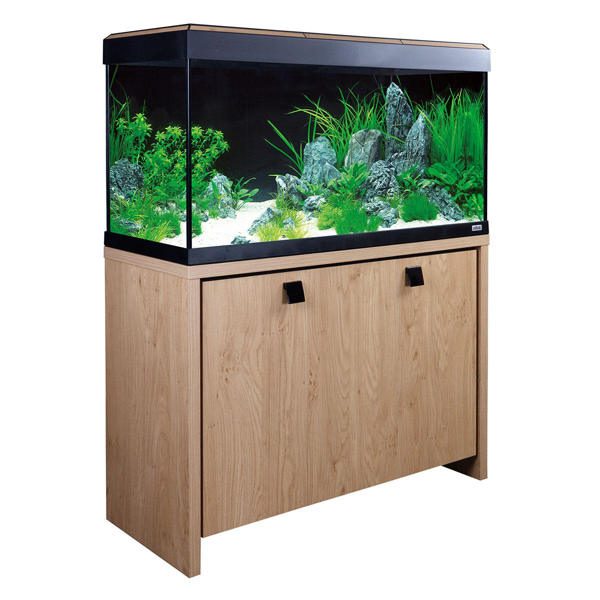 fluval aquarium roma 200 kombination g nstig kaufen bei zooroyal. Black Bedroom Furniture Sets. Home Design Ideas