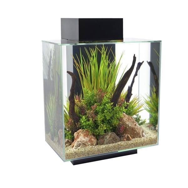 fluval edge ii aquarium inkl beleuchtung und filter starter kit ebay. Black Bedroom Furniture Sets. Home Design Ideas