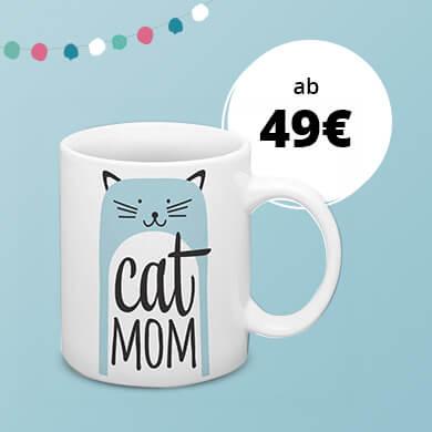 Cat Mom Tasse