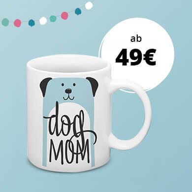 Dog Mom Tasse