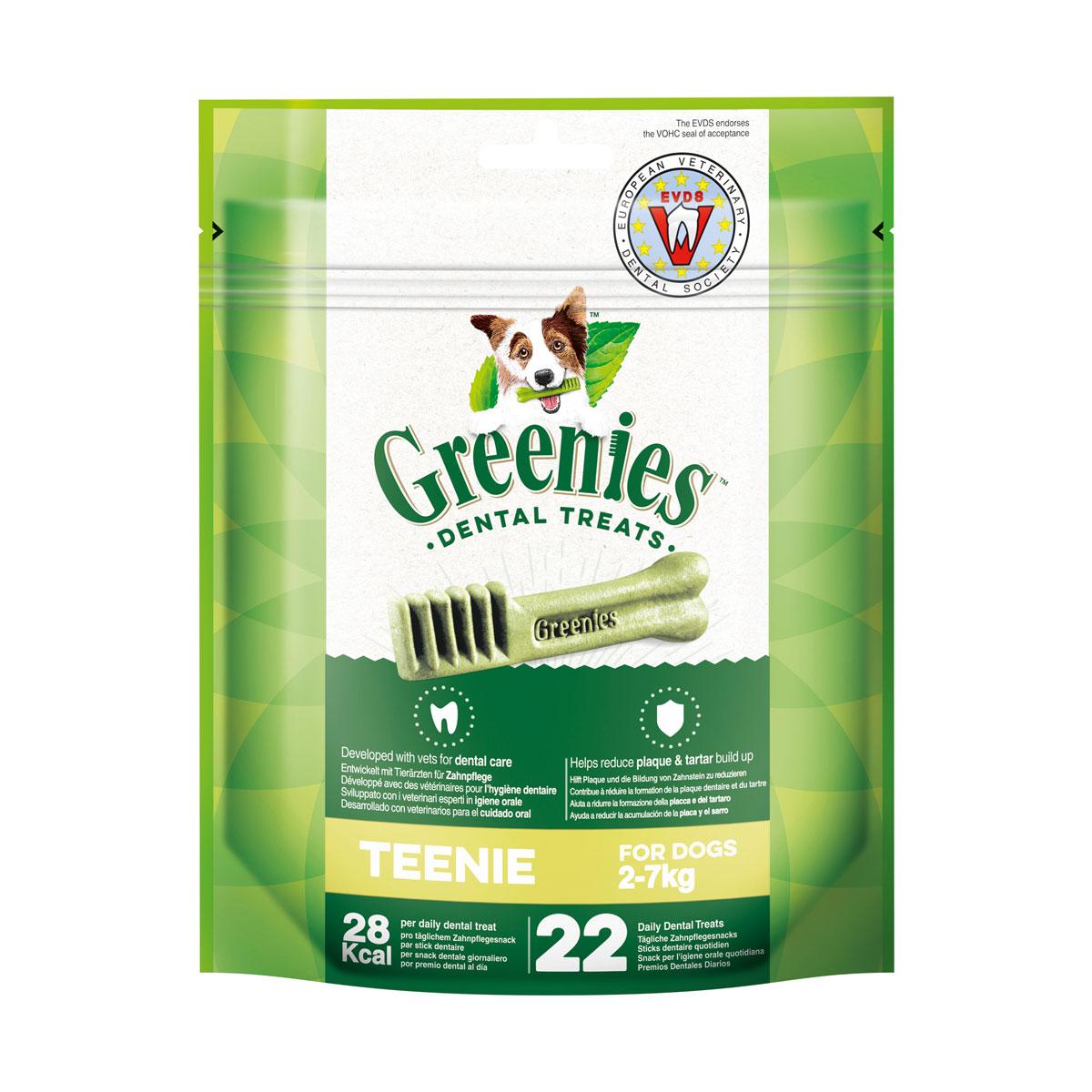 Greenies Teenie Zahnpflegesnacks für Hunde von 2-7kg 170g