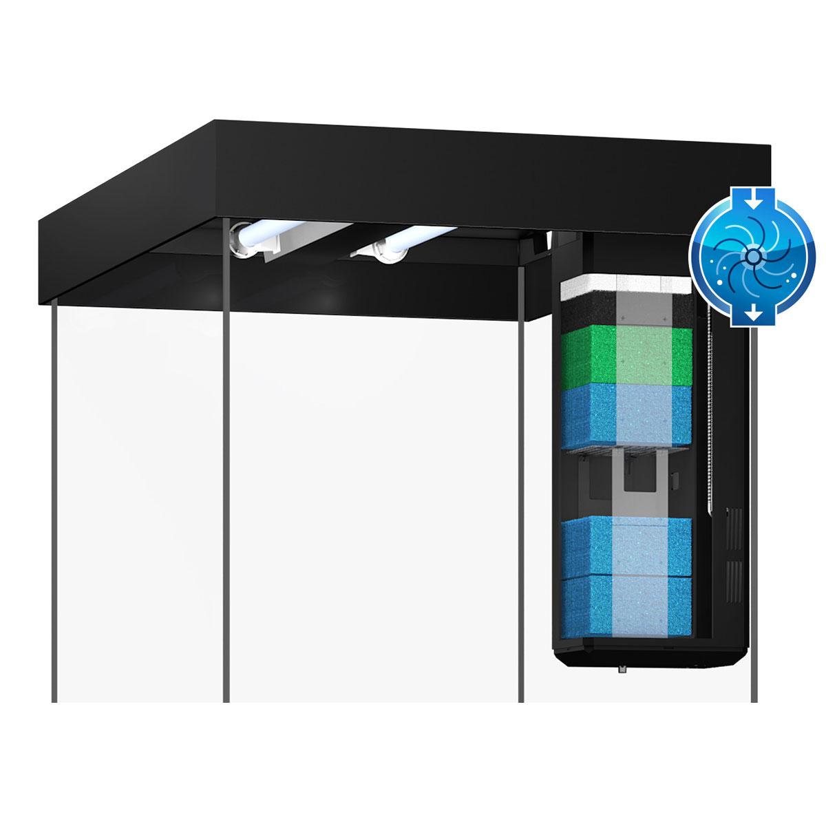 juwel lido 120 led komplett aquarium ohne schrank bei zooroyal. Black Bedroom Furniture Sets. Home Design Ideas