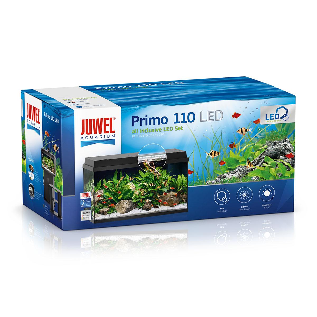 Juwel aquarium primo 110 schwarz for Aquarium versand