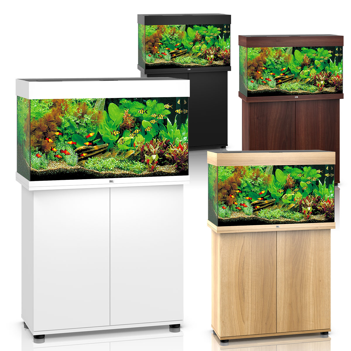 juwel rio 125 led komplett aquarium mit unterschrank sbx. Black Bedroom Furniture Sets. Home Design Ideas