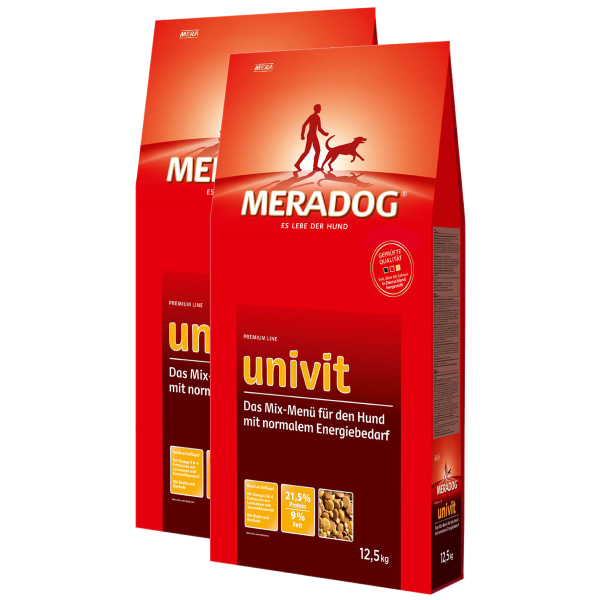 mera dog univit hundefutter 2x12 5kg g nstig kaufen bei zooroyal. Black Bedroom Furniture Sets. Home Design Ideas