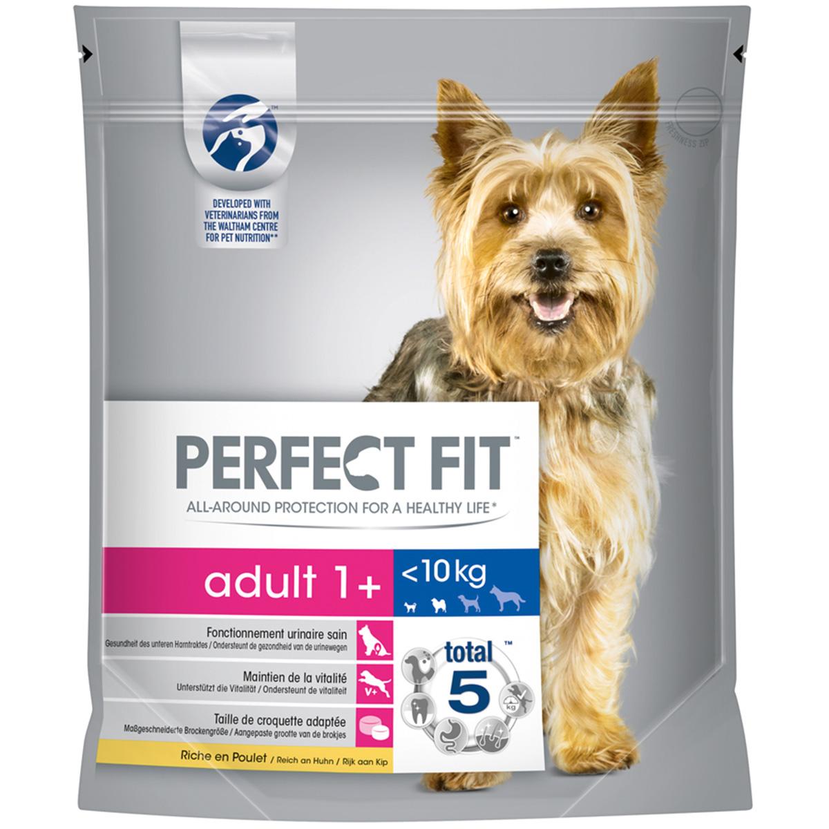 Perfect Fit Adult 1+ für kleine Hunde reich an Huhn 1,4kg