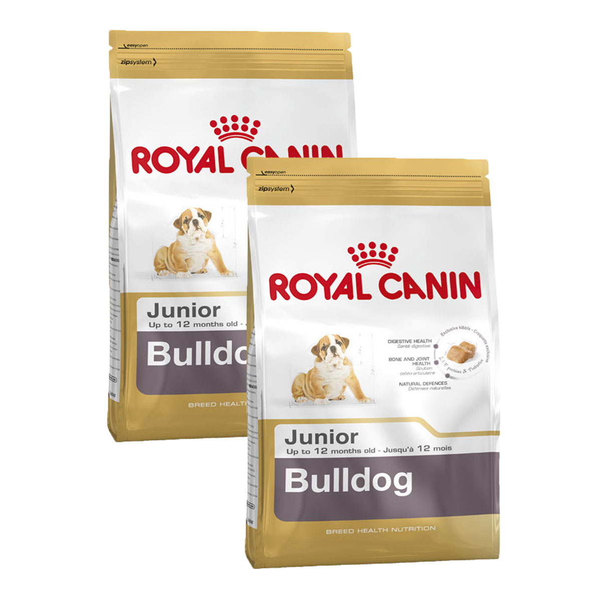 royal canin bulldog junior g nstig kaufen bei zooroyal. Black Bedroom Furniture Sets. Home Design Ideas