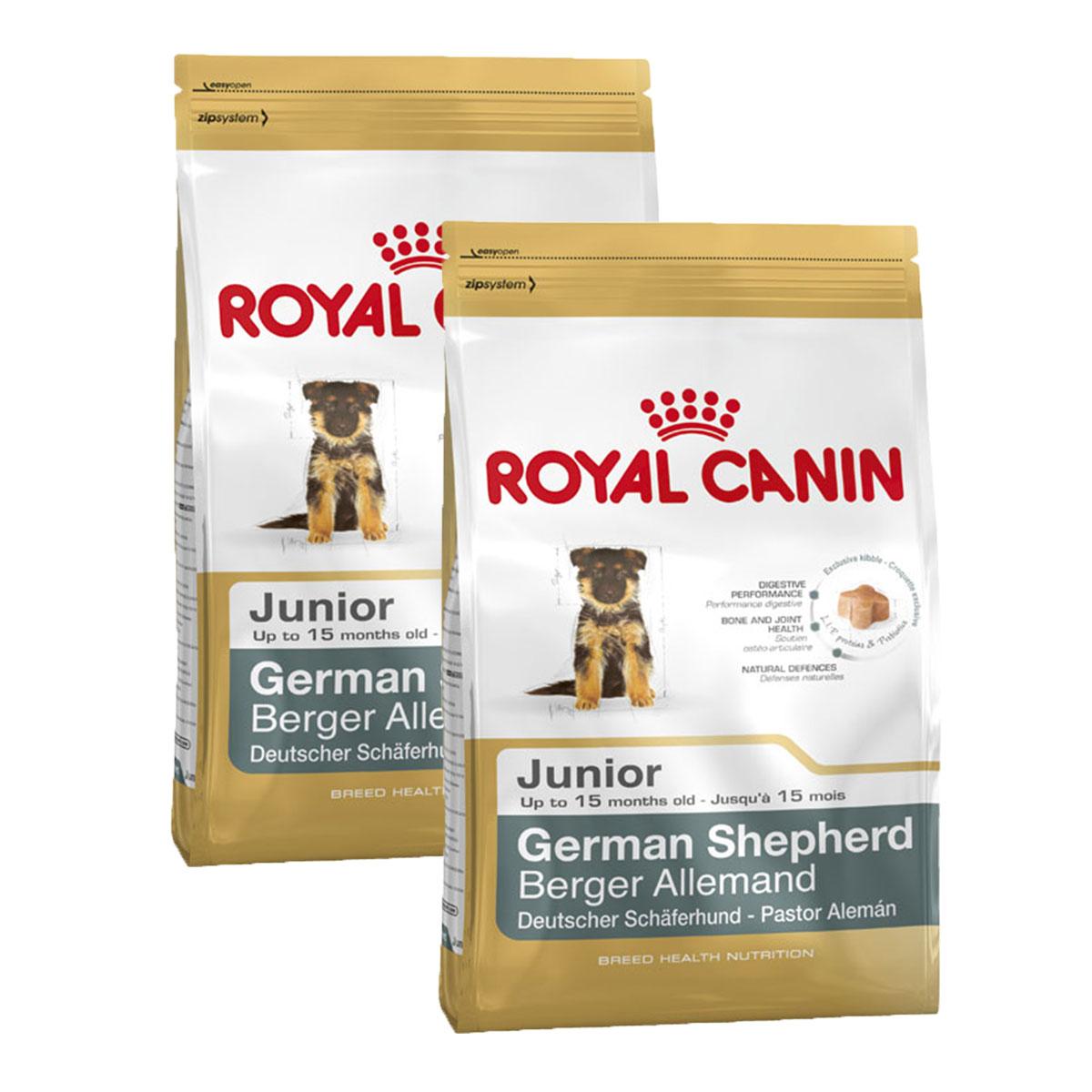 royal canin german shepherd junior g nstig kaufen bei zooroyal. Black Bedroom Furniture Sets. Home Design Ideas