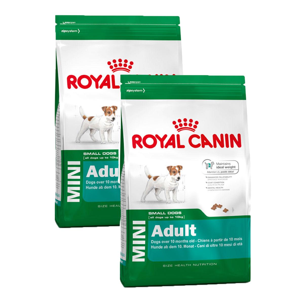 royal canin mini adult g nstig kaufen bei zooroyal. Black Bedroom Furniture Sets. Home Design Ideas