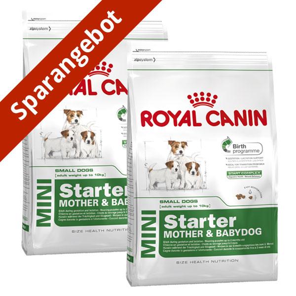 royal canin mini starter g nstig kaufen bei zooroyal. Black Bedroom Furniture Sets. Home Design Ideas