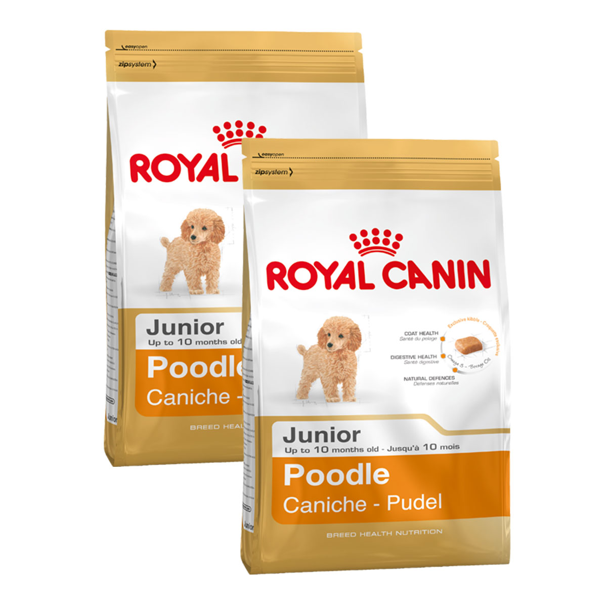 royal canin poodle junior g nstig kaufen bei zooroyal. Black Bedroom Furniture Sets. Home Design Ideas