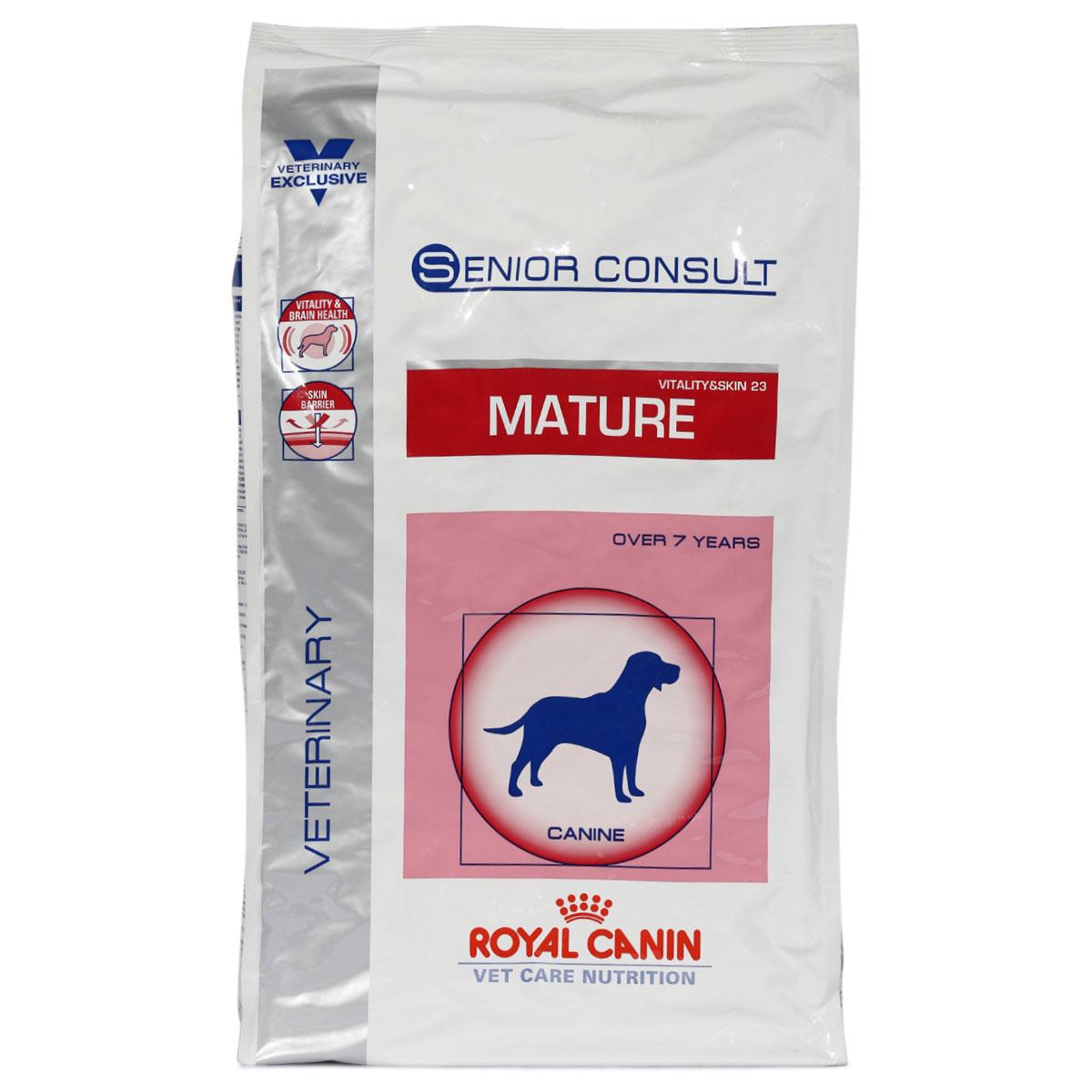 royal canin vet care senior consult mature vitality skin 23. Black Bedroom Furniture Sets. Home Design Ideas