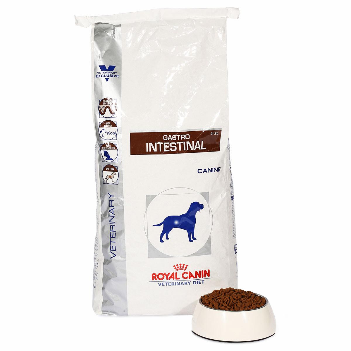 royal canin vet diet gastro intestinal gi 25 kaufen bei zooroyal. Black Bedroom Furniture Sets. Home Design Ideas