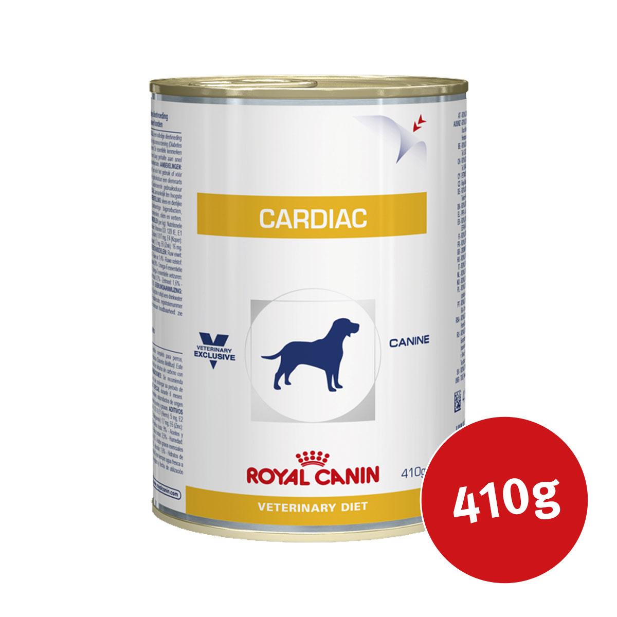 royal canin vet diet nassfutter cardiac wet kaufen bei zooroyal. Black Bedroom Furniture Sets. Home Design Ideas