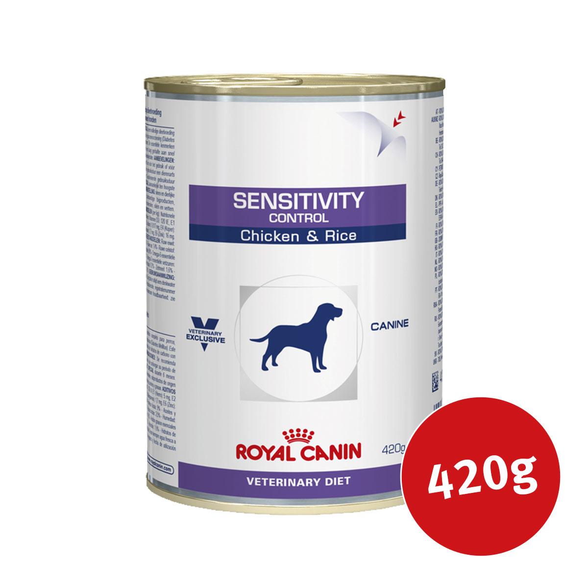 royal canin vet diet nassfutter sensitivity control chicken. Black Bedroom Furniture Sets. Home Design Ideas
