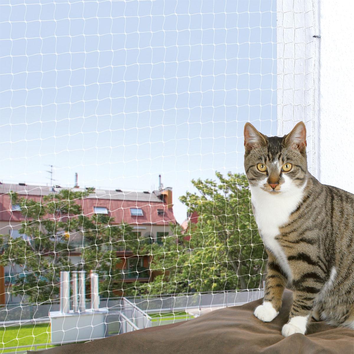 katzennetz katzenschutznetz g nstig kaufen bei zooroyal. Black Bedroom Furniture Sets. Home Design Ideas
