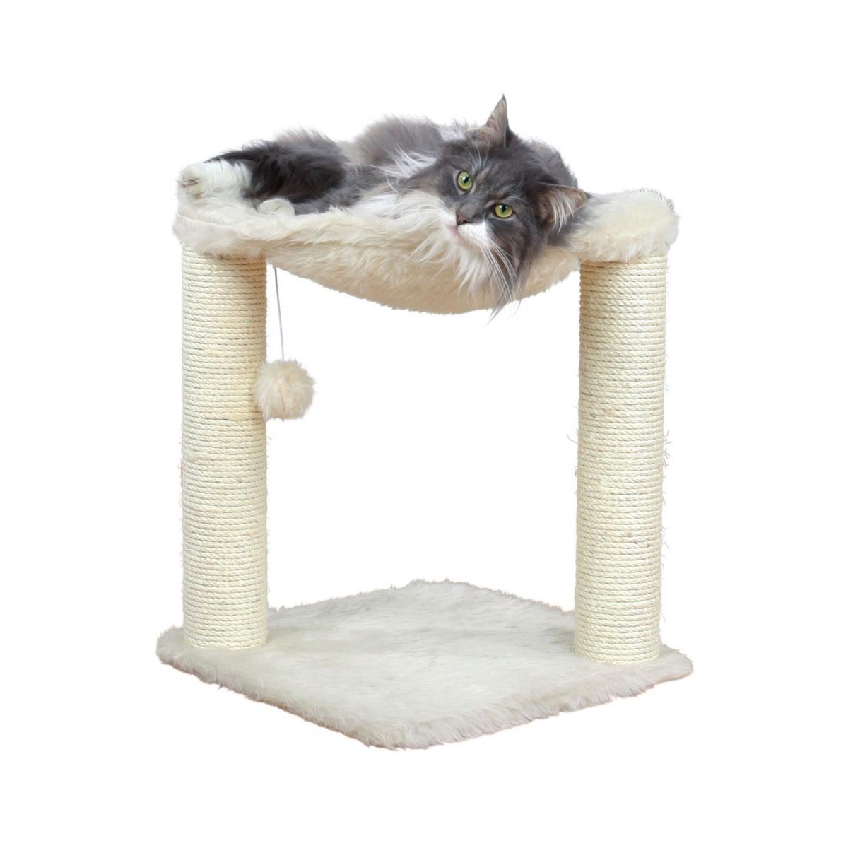trixie kratzbaum baza 50cm langhaar creme kaufen bei zooroyal. Black Bedroom Furniture Sets. Home Design Ideas