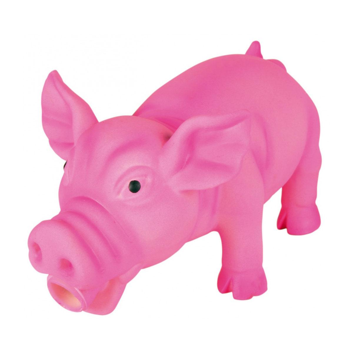 trixie schwein latex spielzeug div farben kaufen bei zooroyal. Black Bedroom Furniture Sets. Home Design Ideas