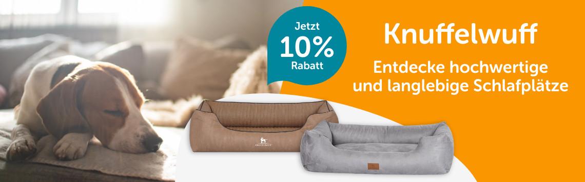 Knuffelwuff Hundebetten mit 10% Rabatt