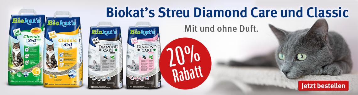 Biokats 20% Rabatt