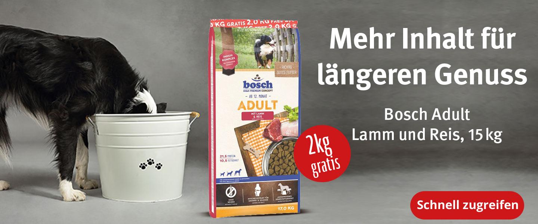 Bosch 15+2kg gratis