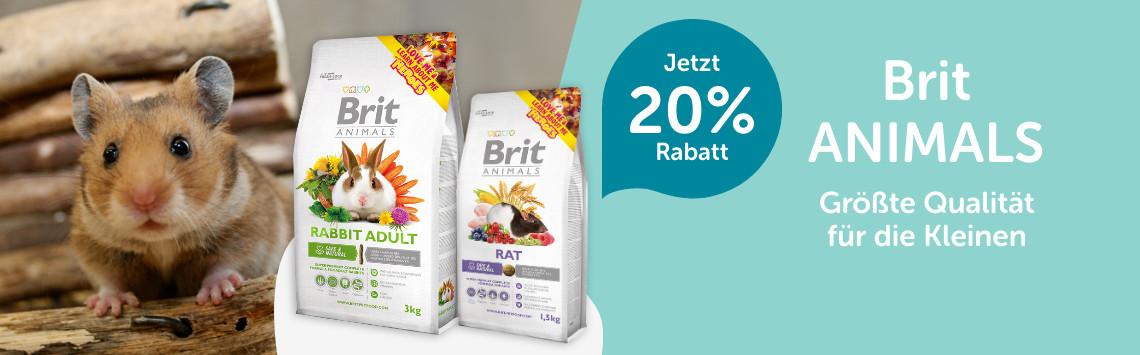 Brit Animals mit 20% Rabatt