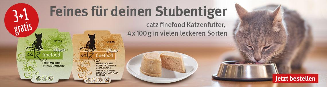Catz finefood 3+1 gratis