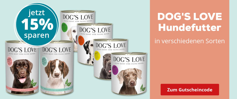 DOG'S LOVE Hundefutter im Angebot
