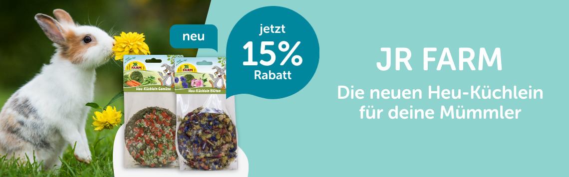 JR Farm mit 15%