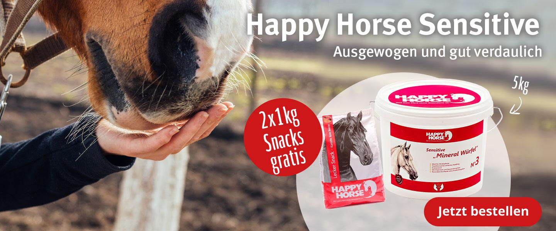 Happy Horse Snacks Gratis